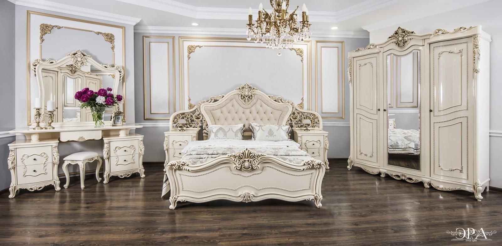 Спальный гарнитур Джоконда купить недорого в Санкт-Петербурге в магазине «Мебельная Долина»